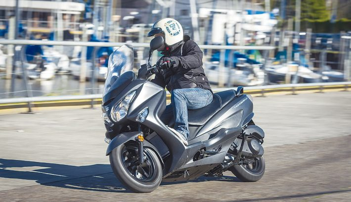 Suzuki Burgman 200 5