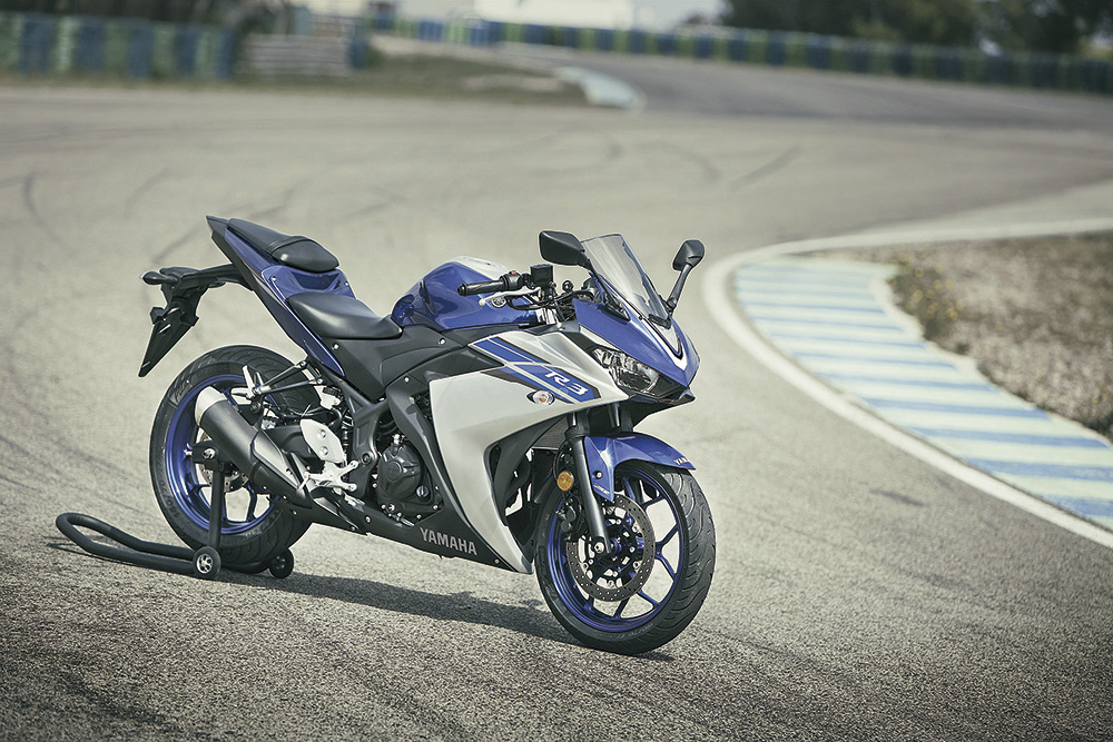 Yamaha YZF R3 11