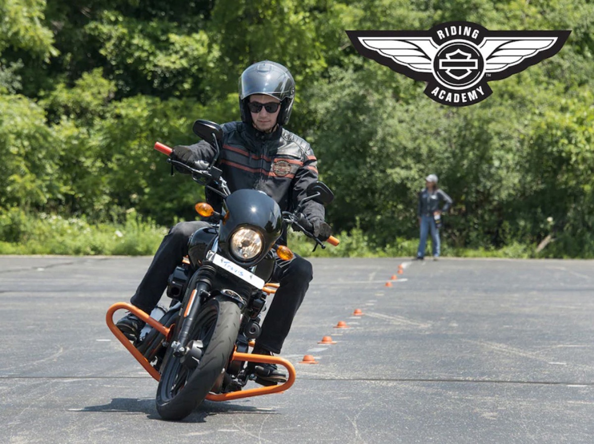 2019 harley davidson riding academy to univeristy course