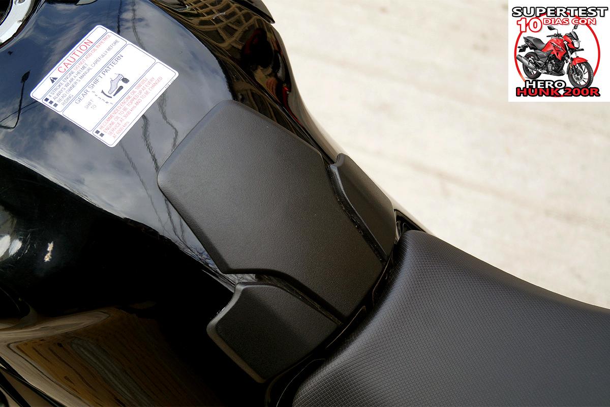 Hero Hunk 200R ergonomia relleno 3