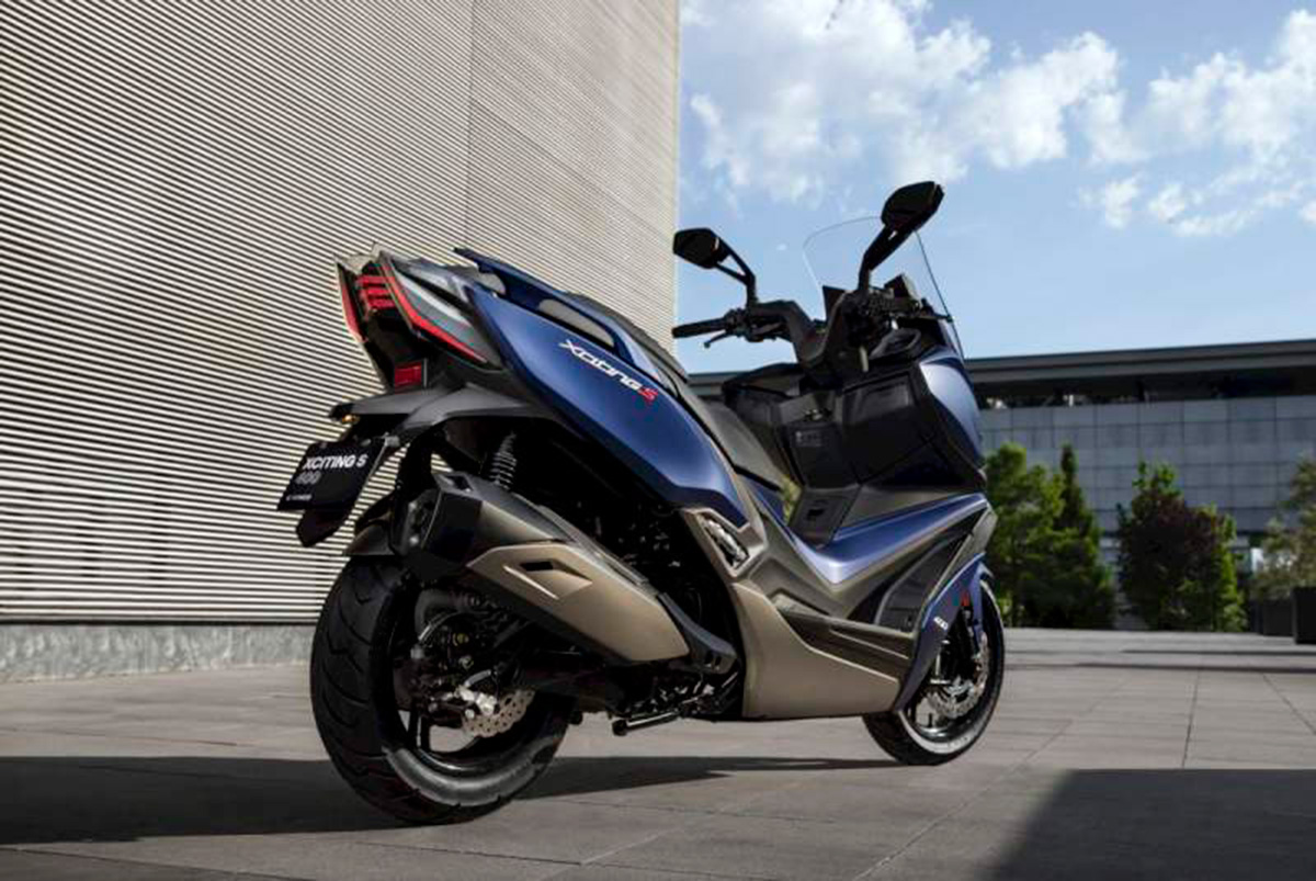 KYMCO Xciting S 400 5