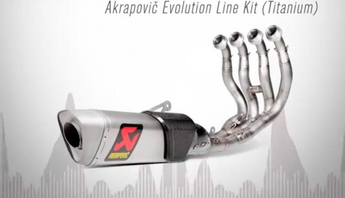 akrapovic evolution