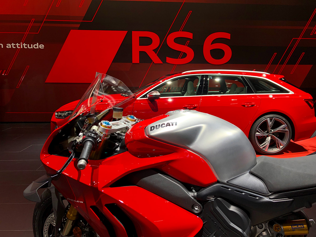 Ducati Panigale V4S Frankfurt Salon Automovil 3