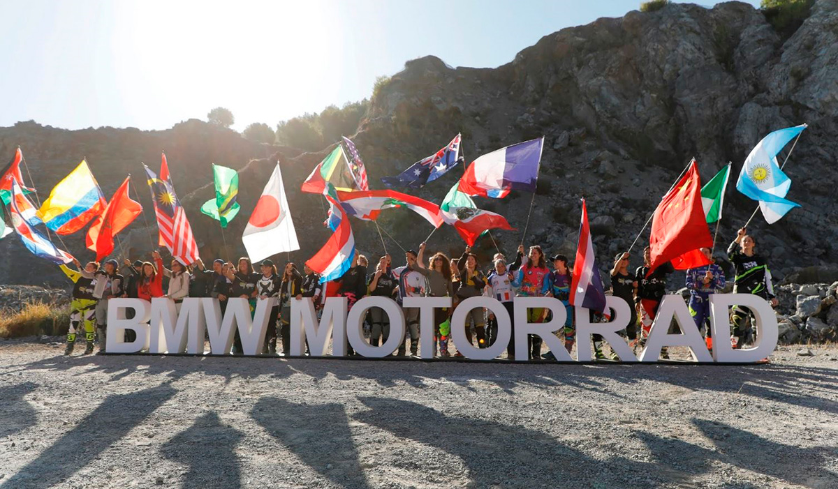Eliminatoria 2019 para los Equipos Femeninos del BMW Motorrad International GS Trophy. 1