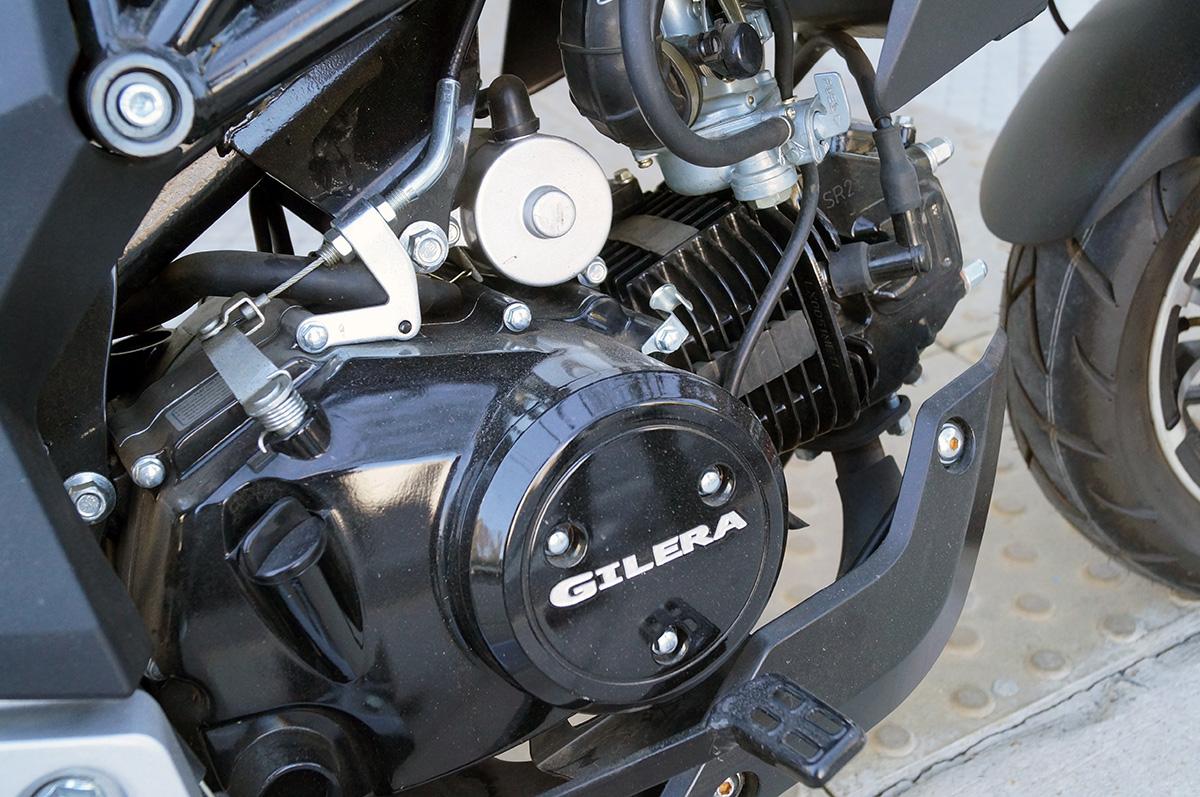 Supertest Motor y Caja Gilera GX1 1