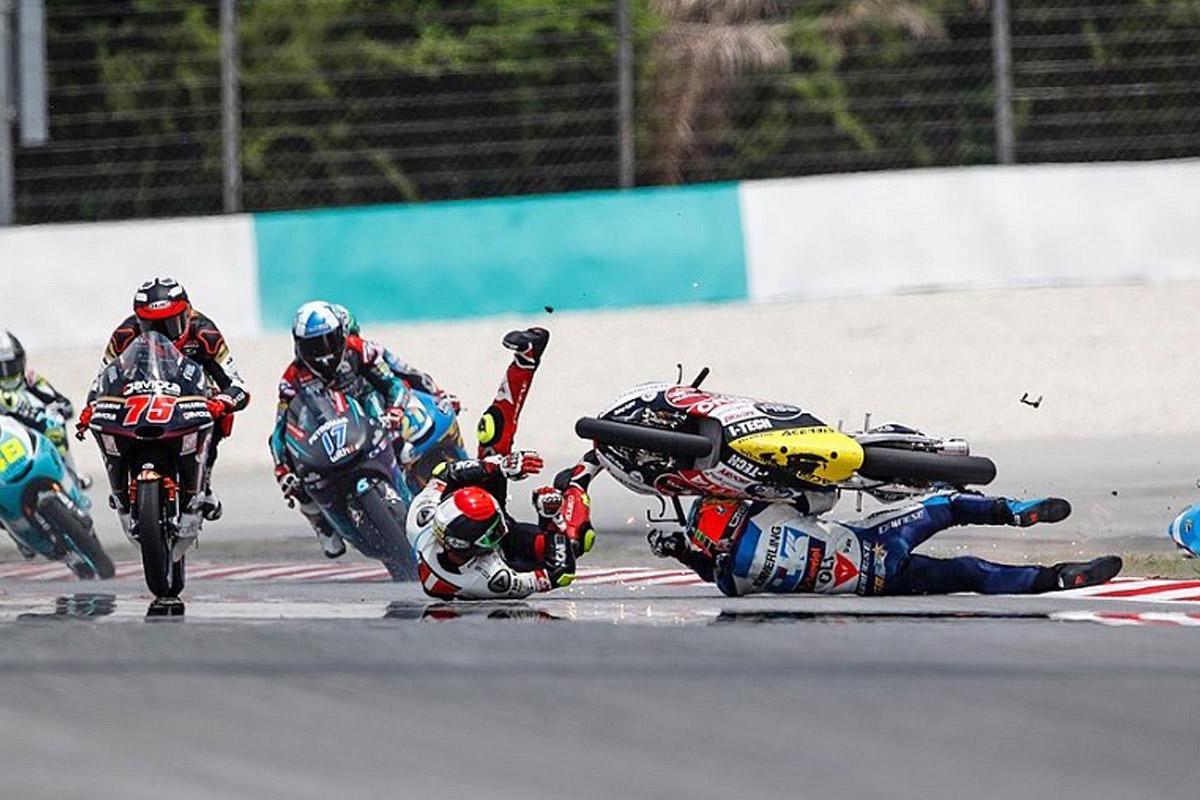 1104 motogp malasia5 moto3 accidente