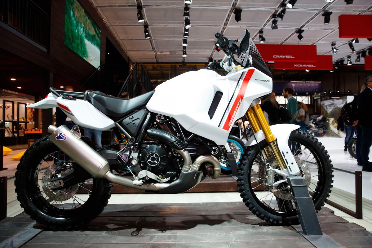 Ducati Scrambler DesertX 3