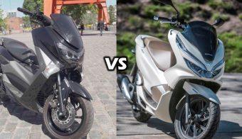 Honda pcx vs yamaha nm x155