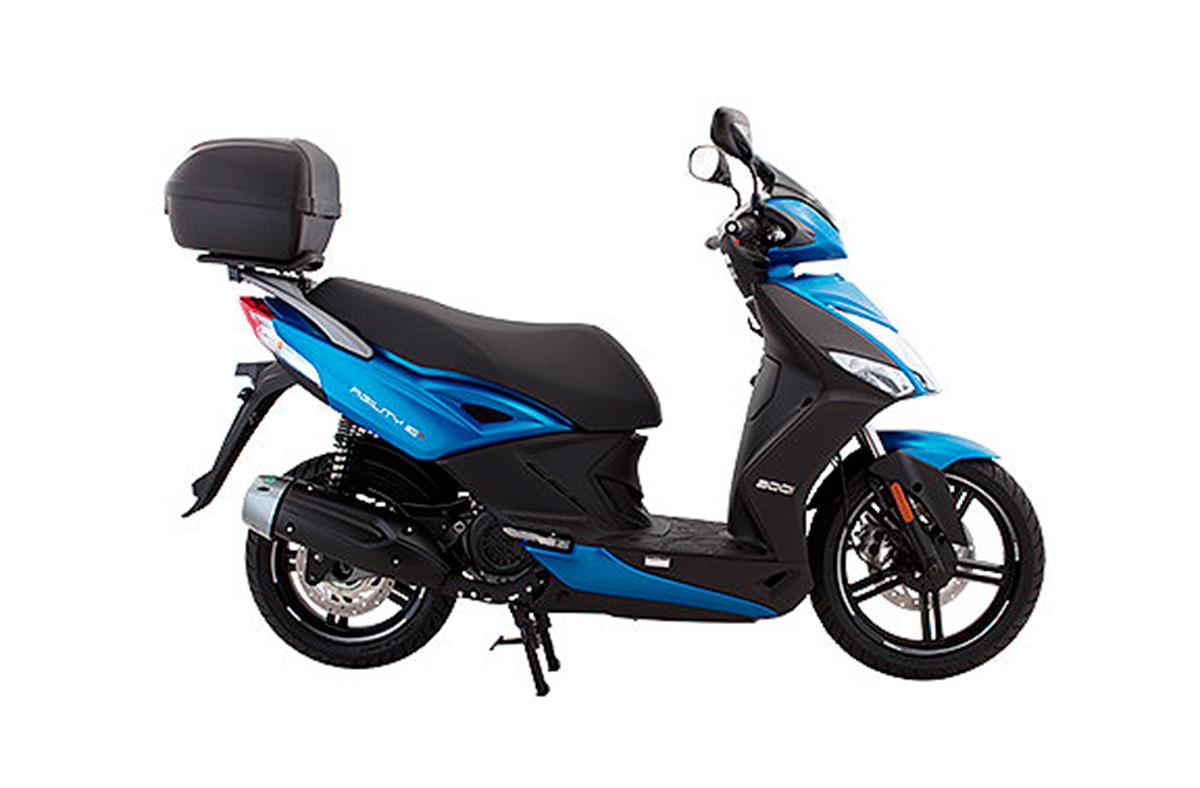 Kymco Brasil scooter 2