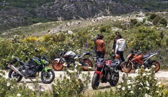 Comparativa motos naked 9