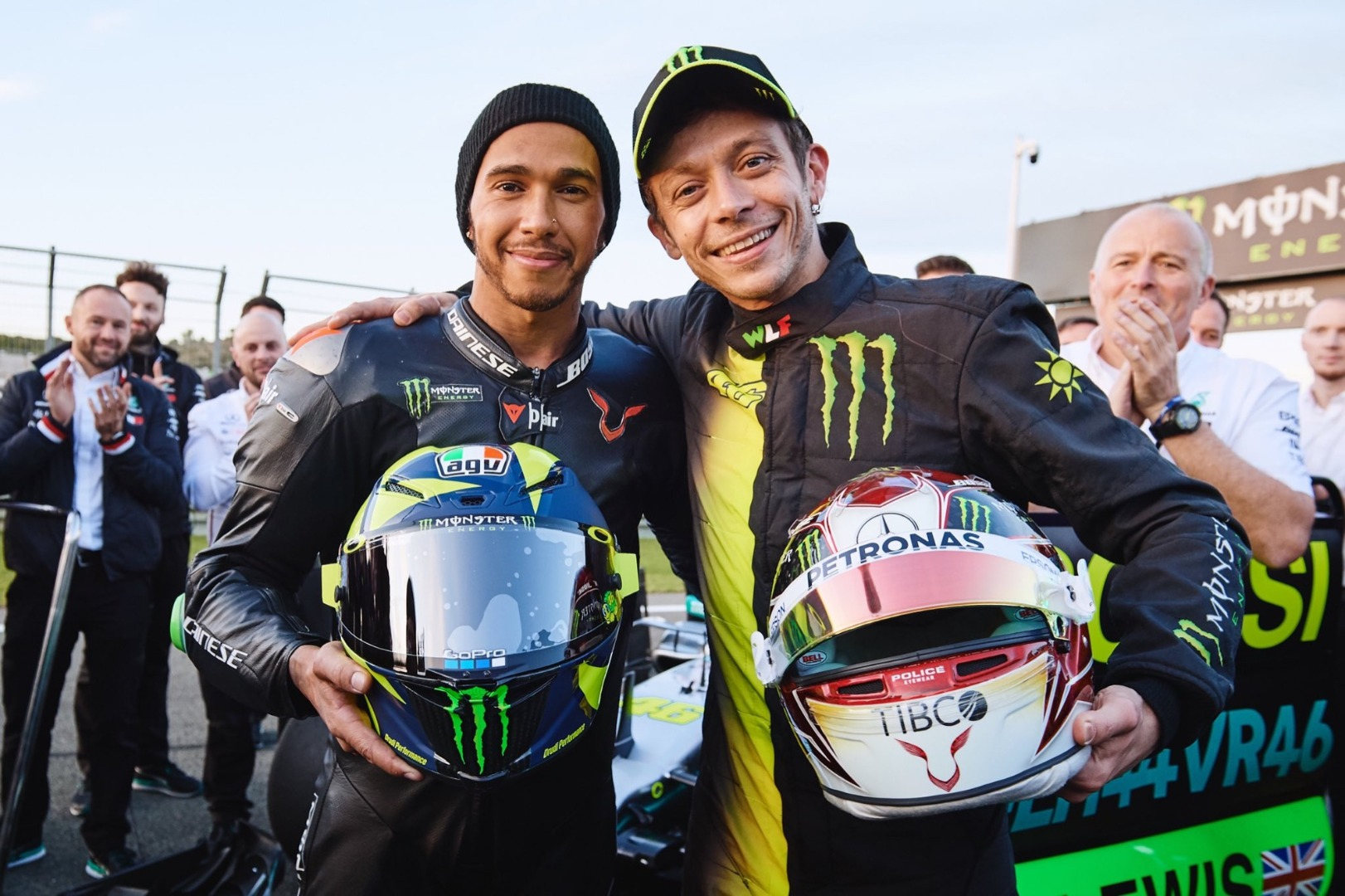 Rossi F1 Y Hamilkton MotoGp 1