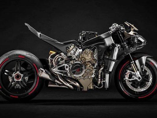Ducati Superleggera V4 2020 BikeLeaks video 2