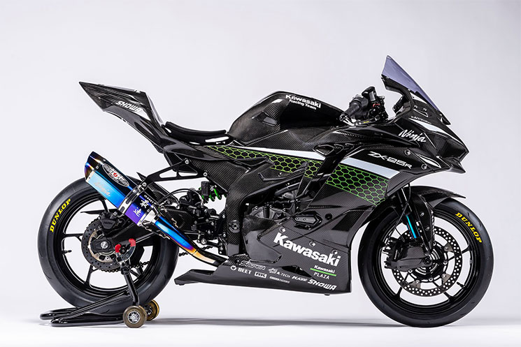ZX25R Kawasaki Racer 6
