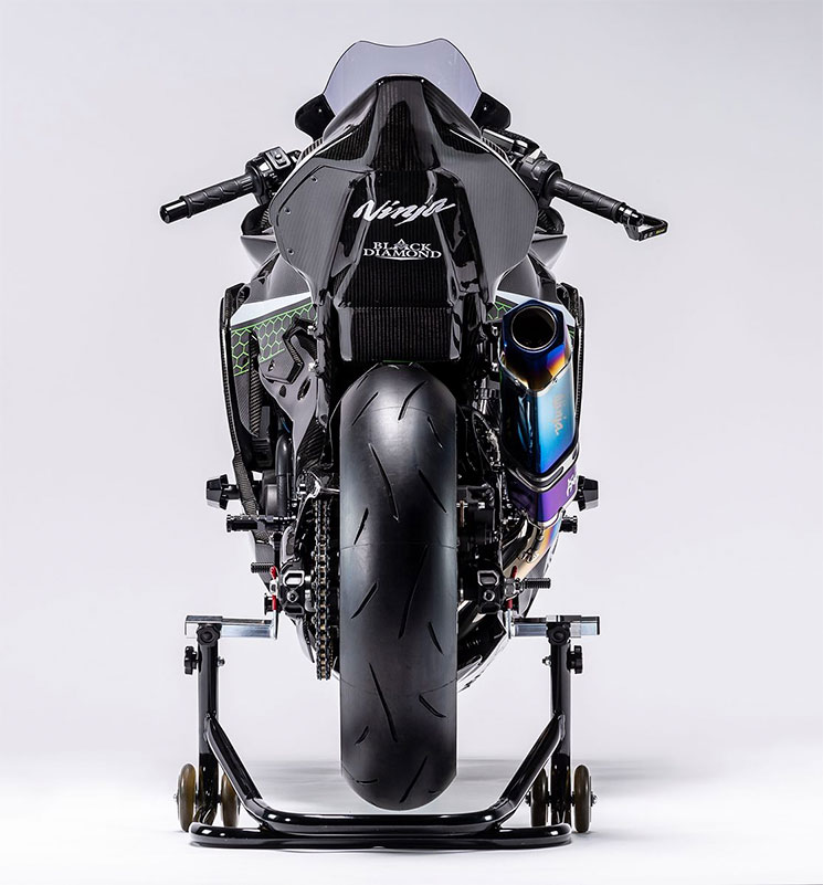 ZX25R Kawasaki Racer 7