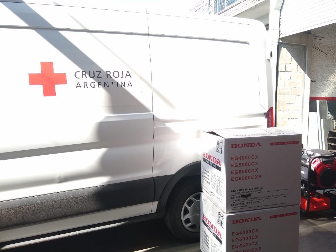 Donación Cruz Roja HAR