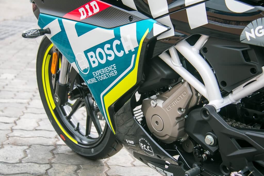 300SR, ¿la mejor deportiva china? » La Moto - Pruebas