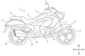 suzuki intruder 250 cruiser patent images leaked 1