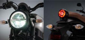 Yamaha XSR155 faros