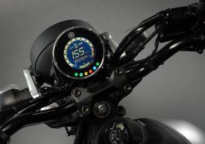 Yamaha XSR155 instrumental