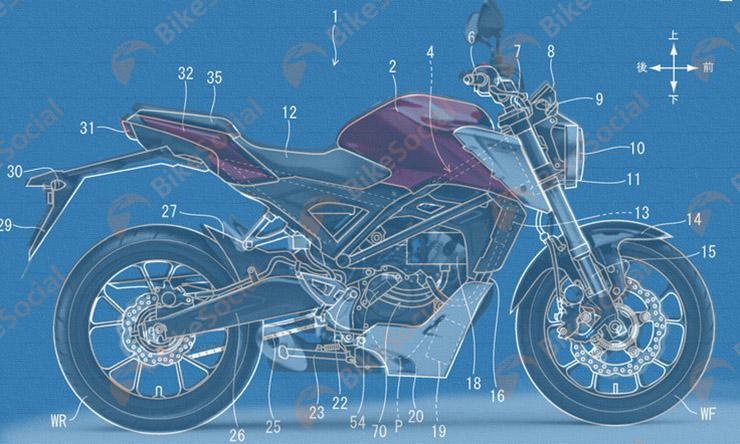 HONDA CB 125R 3