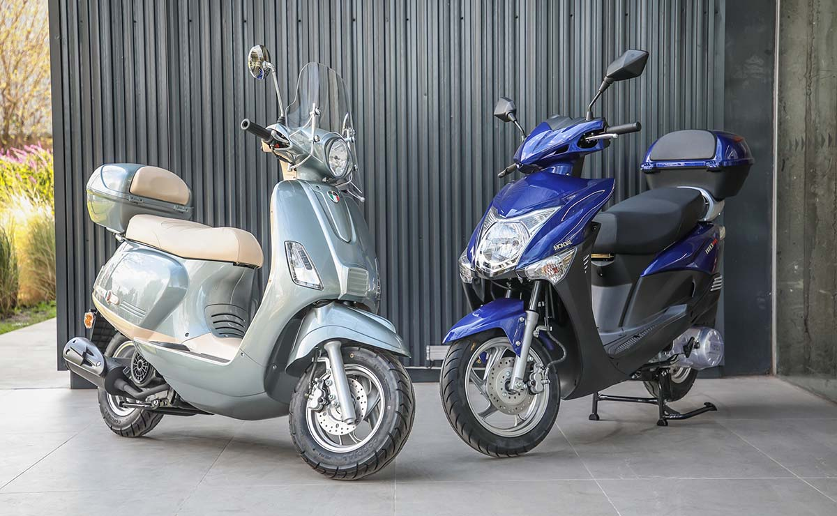 Mondial scooters