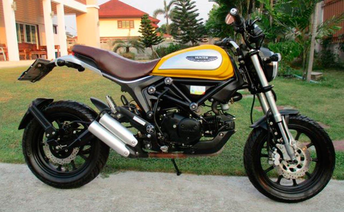 Lifan copia de Ducati Scrambler