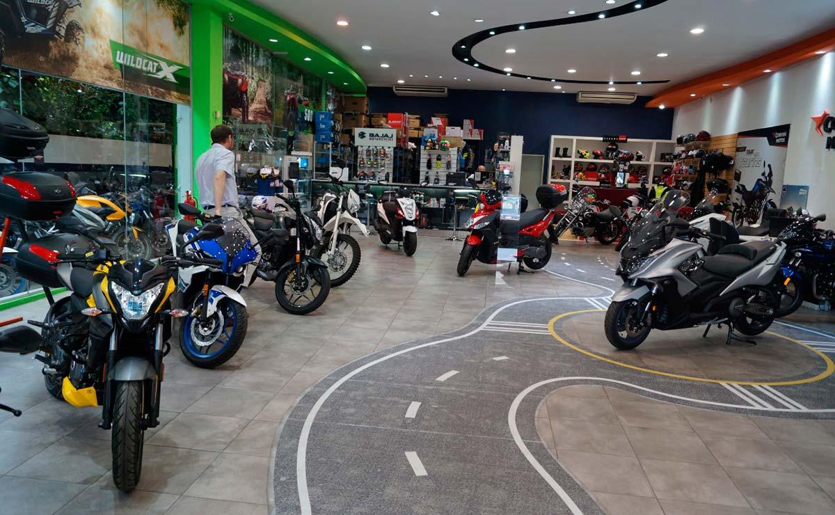motos concesionario cuotas mercado ventas