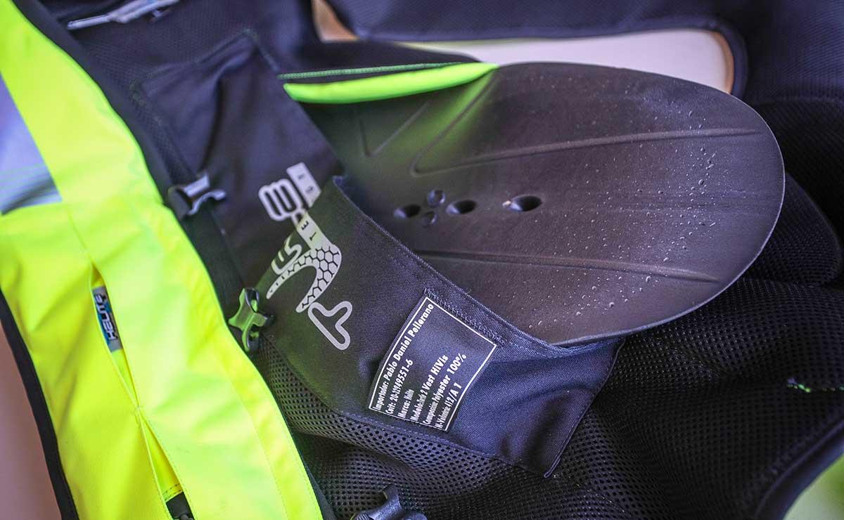 chaleco con airbag moto Helite 3