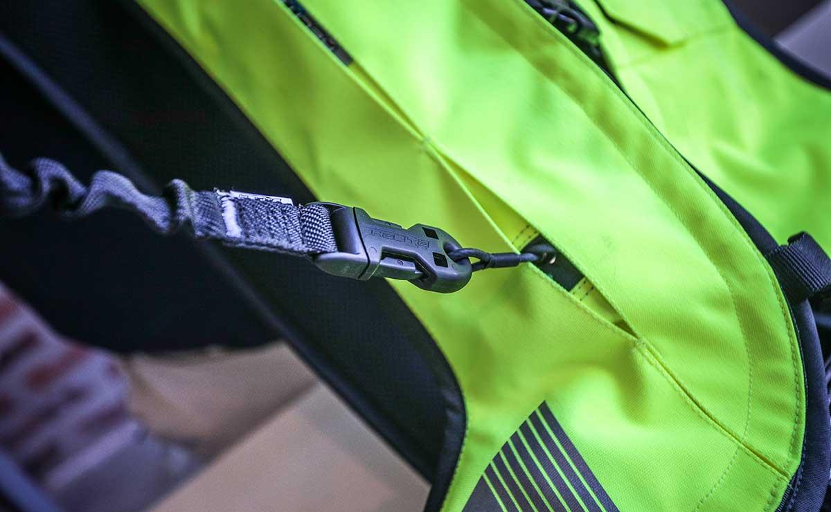 chaleco con airbag moto Helite 7
