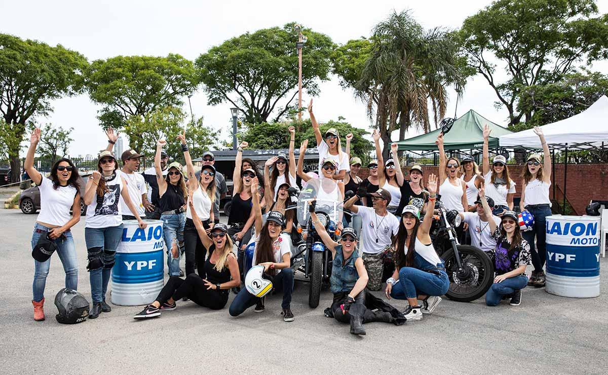 YPF Moto Mujeres al Mando