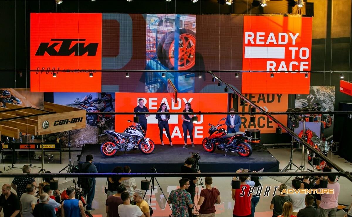 KTM Presentación