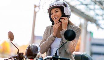 casco moto seguridad