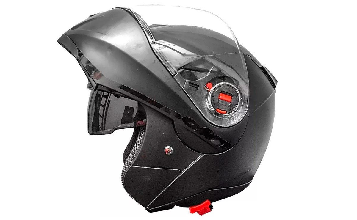 casco rebatible