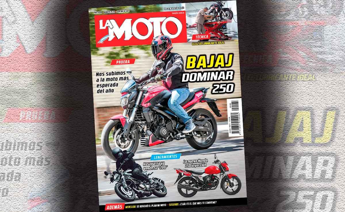 la moto dominar 250