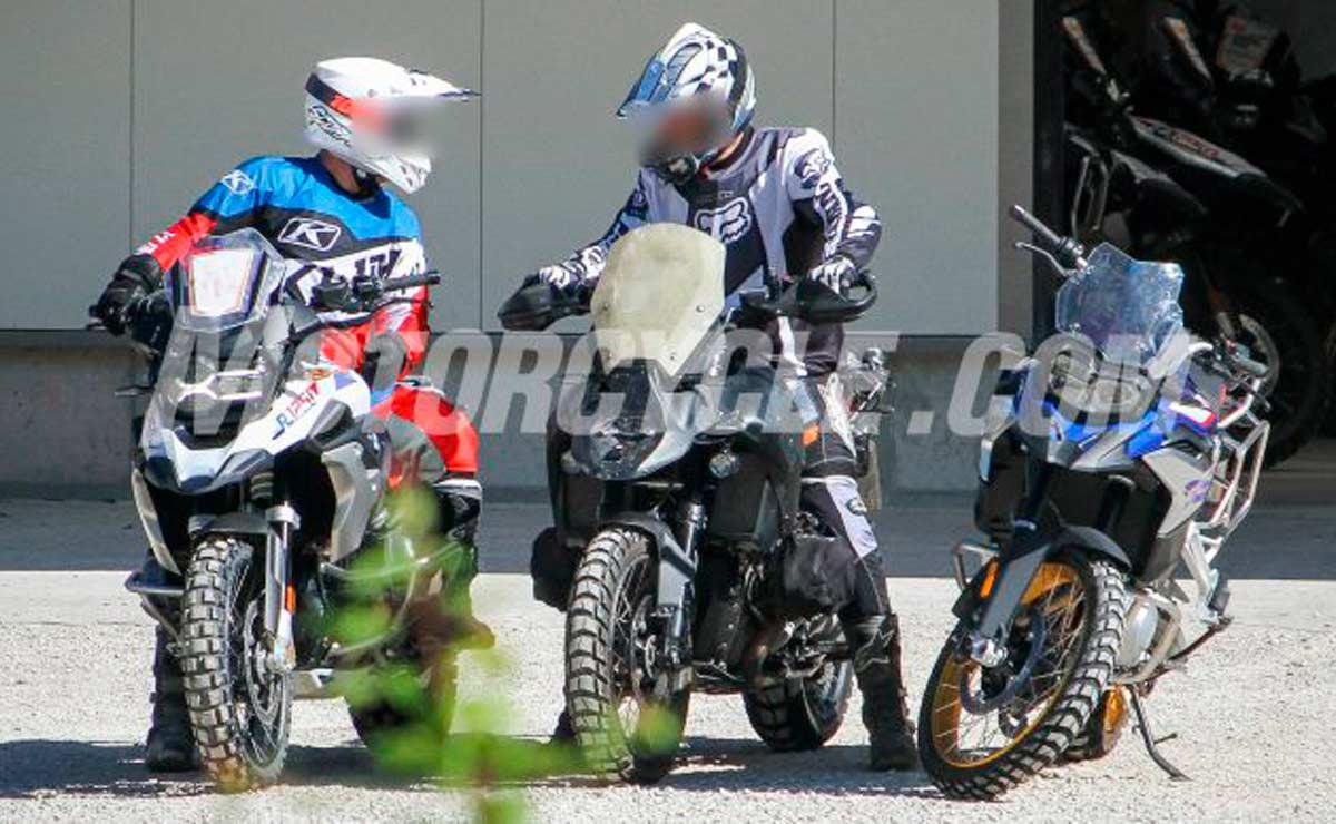 BMW R 1300 GS tres motos