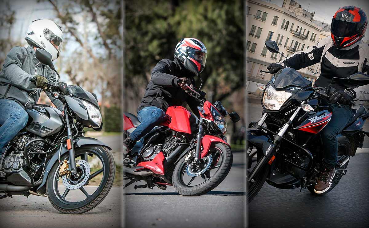 Bajaj TVS Hero motos indias