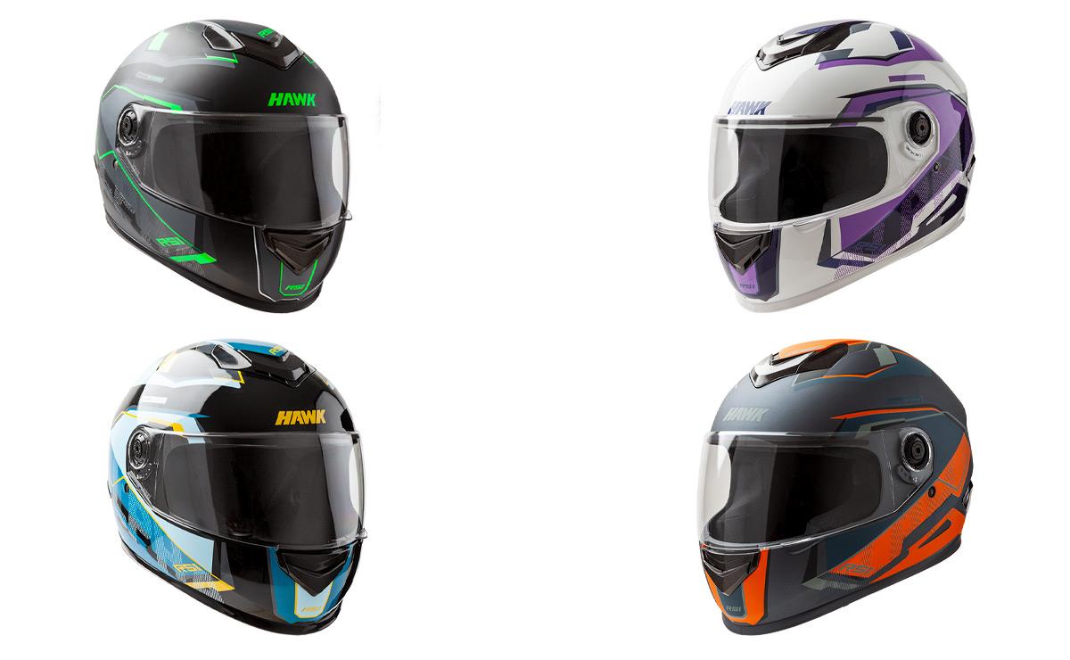 Hawk casco nuevo colores