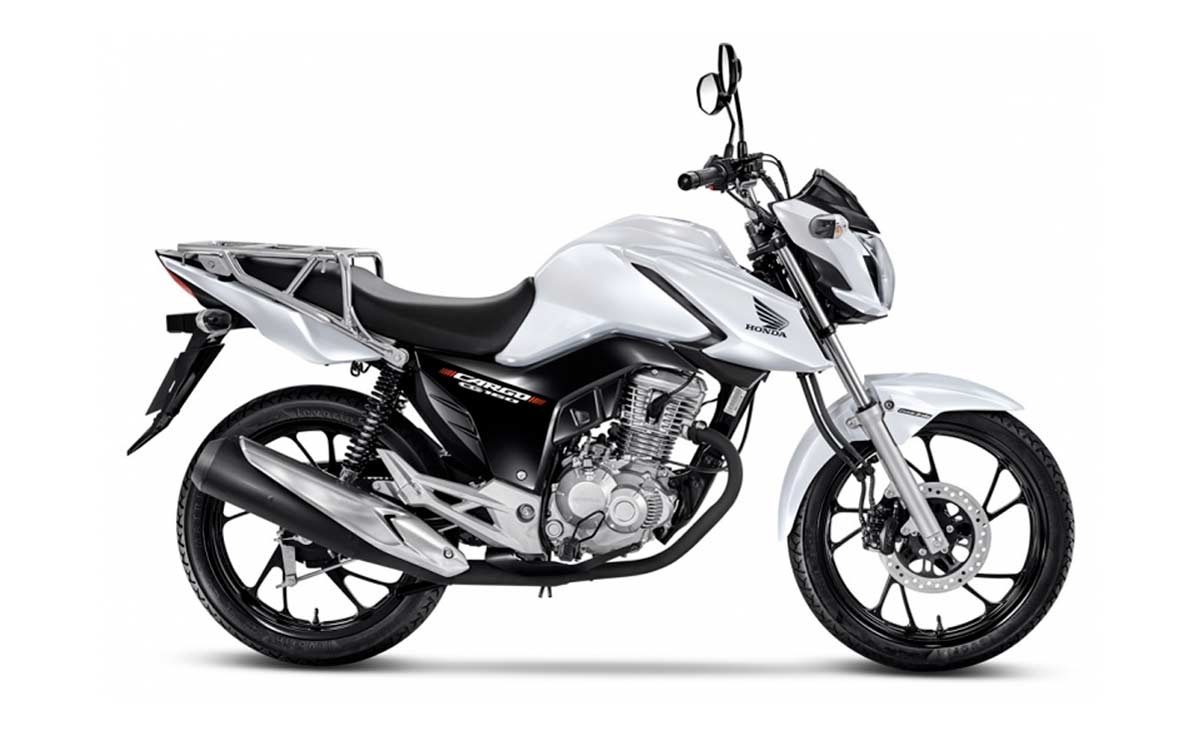 Honda CG 160 cargo blanca