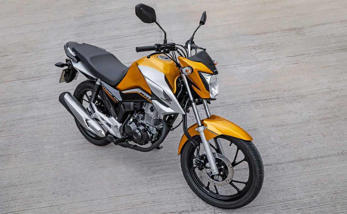 Honda CG 160 titan amarilla