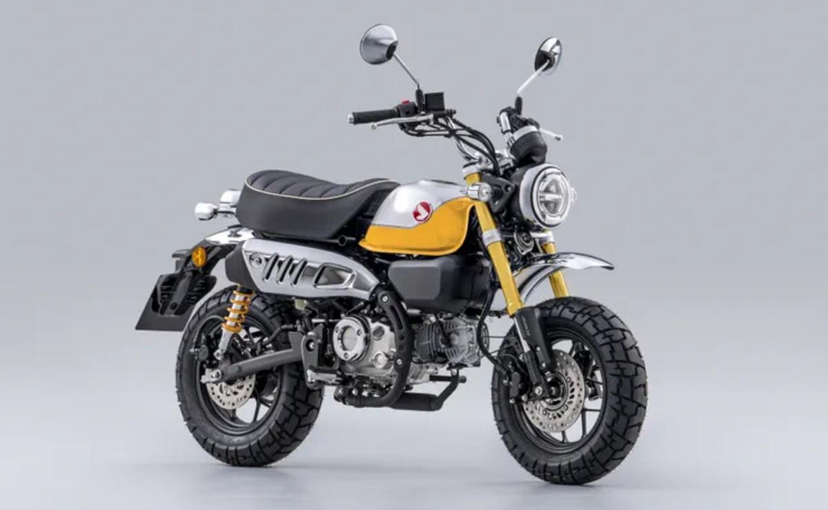 Honda Monkey 125 2022 amarilla