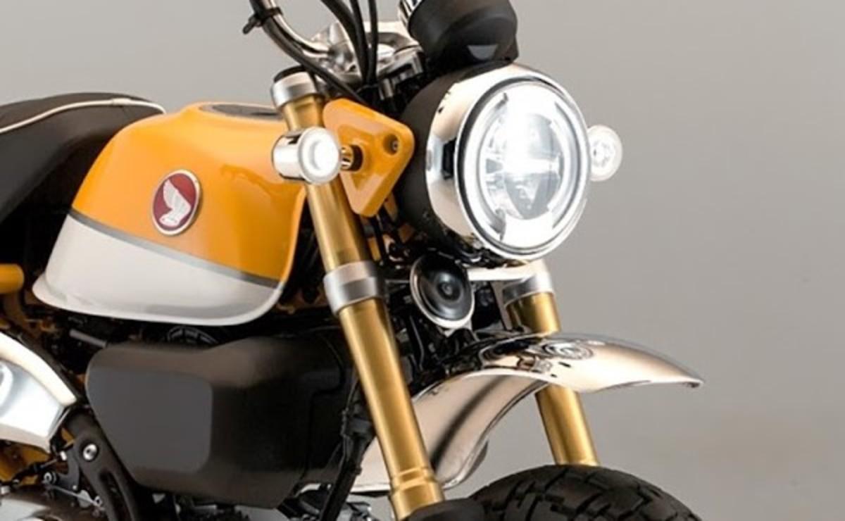 Honda Monkey 125 2022 detalle iluminacion