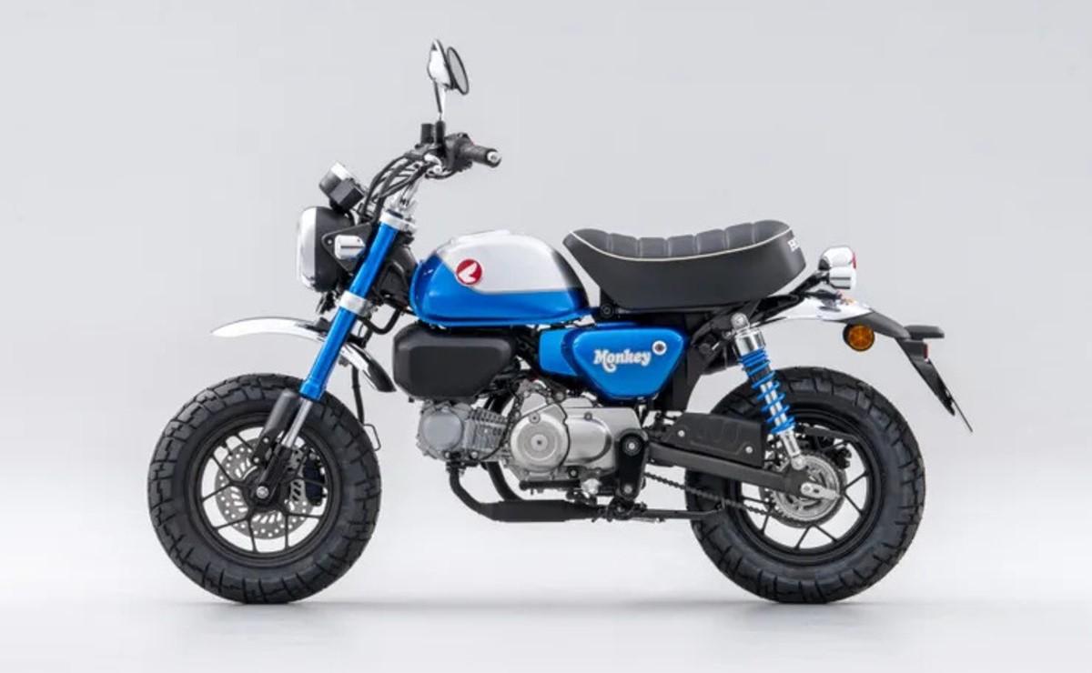 Honda Monkey 125 2022 lateral izquierdo