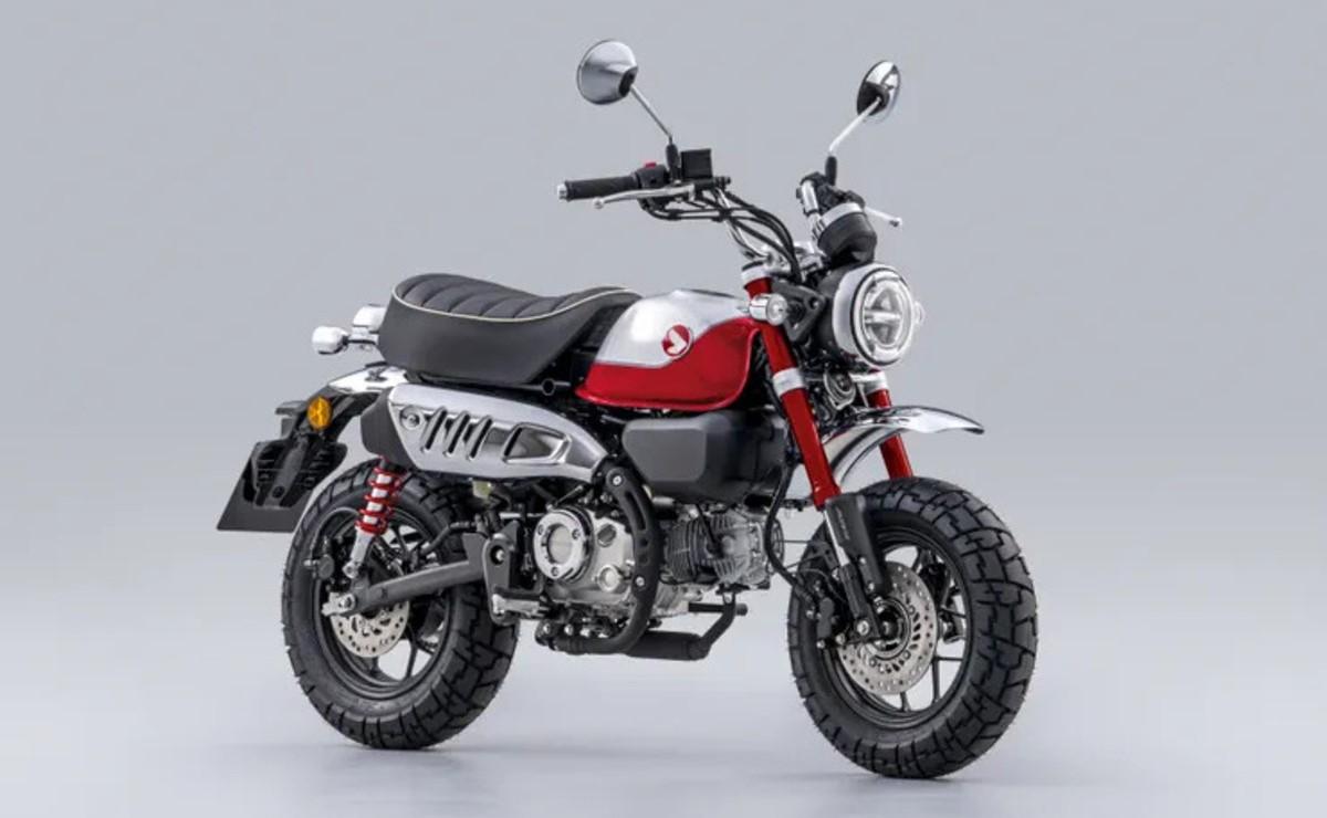 Honda Monkey 125 2022 roja