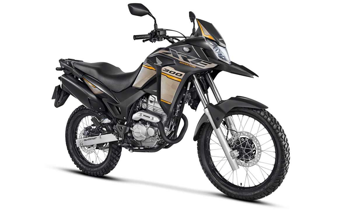 Honda XRE 300 2022 ABS negra y gris