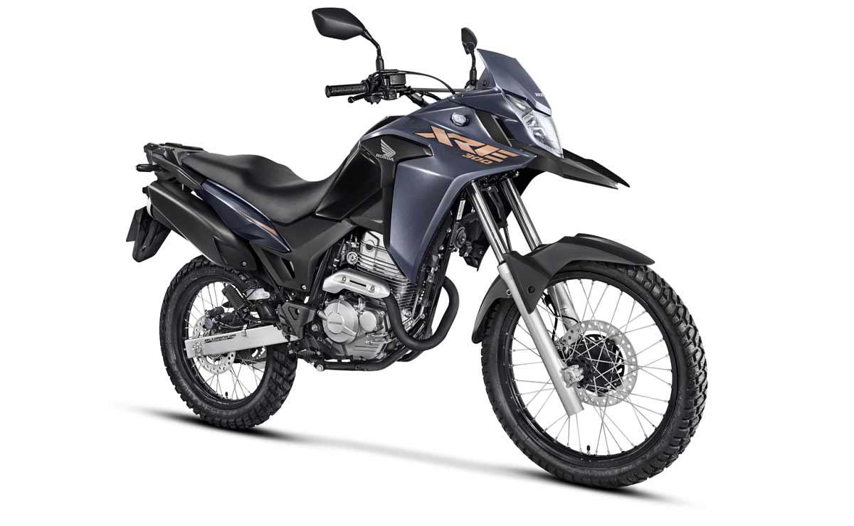 Honda XRE 300 2022 Adventure gris