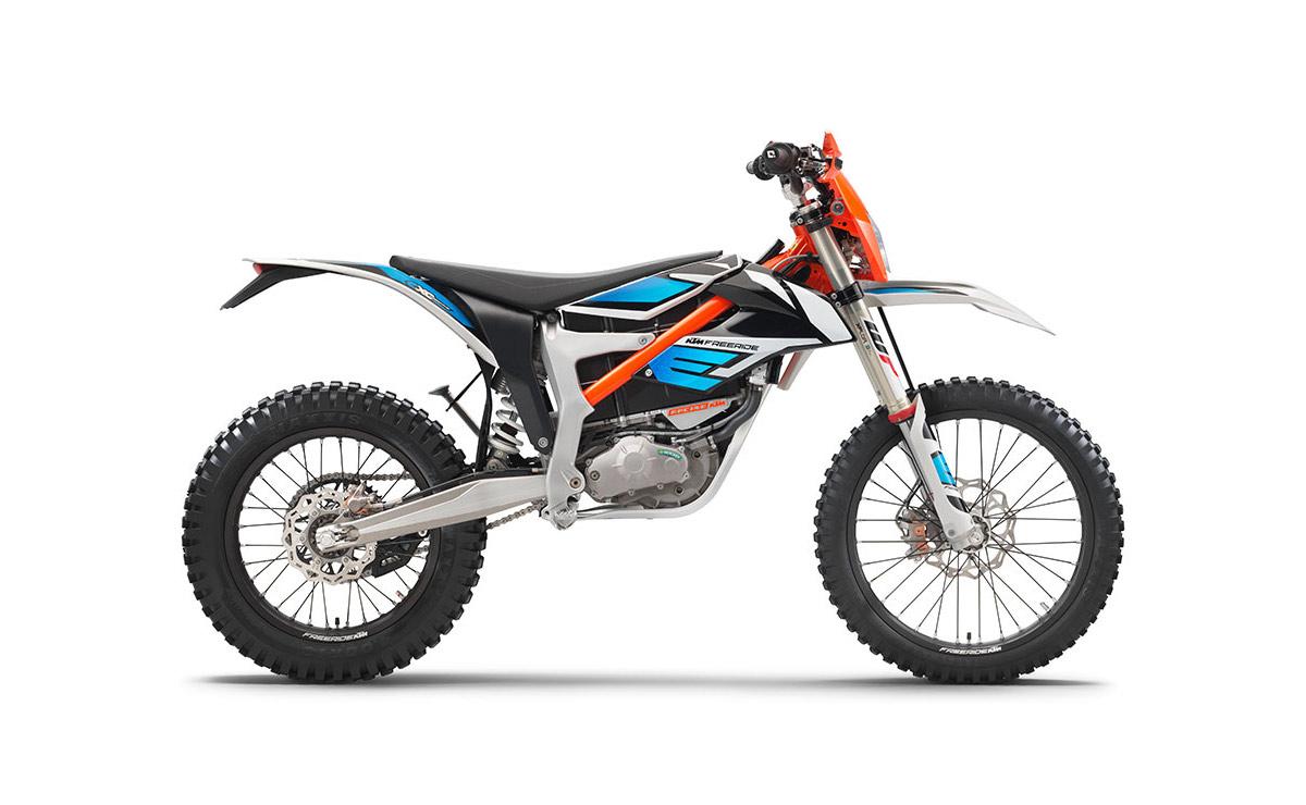 KTM Freeride E-XC lateral derecho