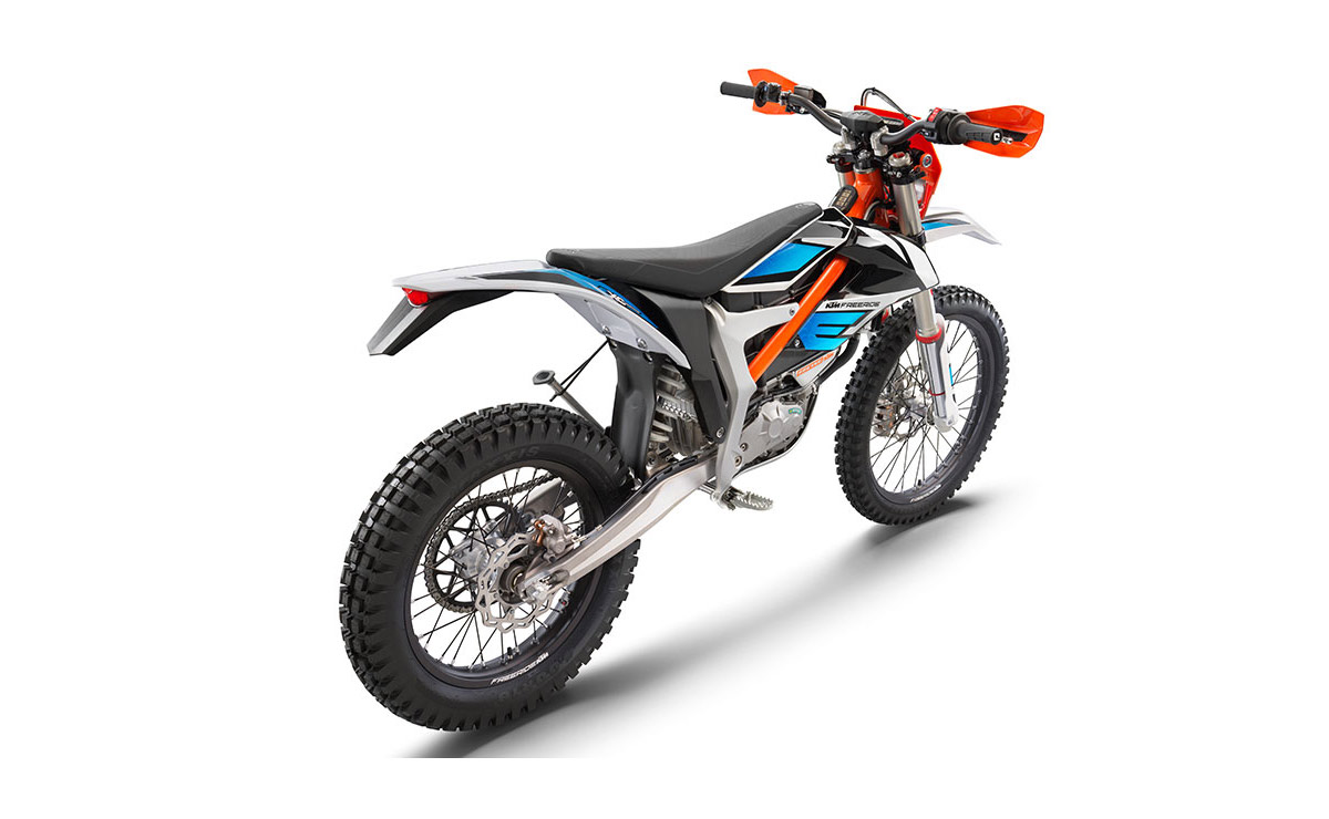 KTM Freeride E-XC vista diagonal inspira a Bajaj