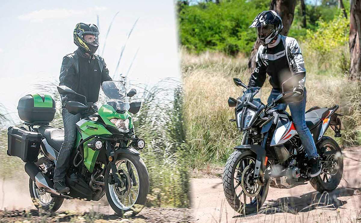 Kawasaki Versys 300 vs KTM 390 Adventure mas elegidas portada