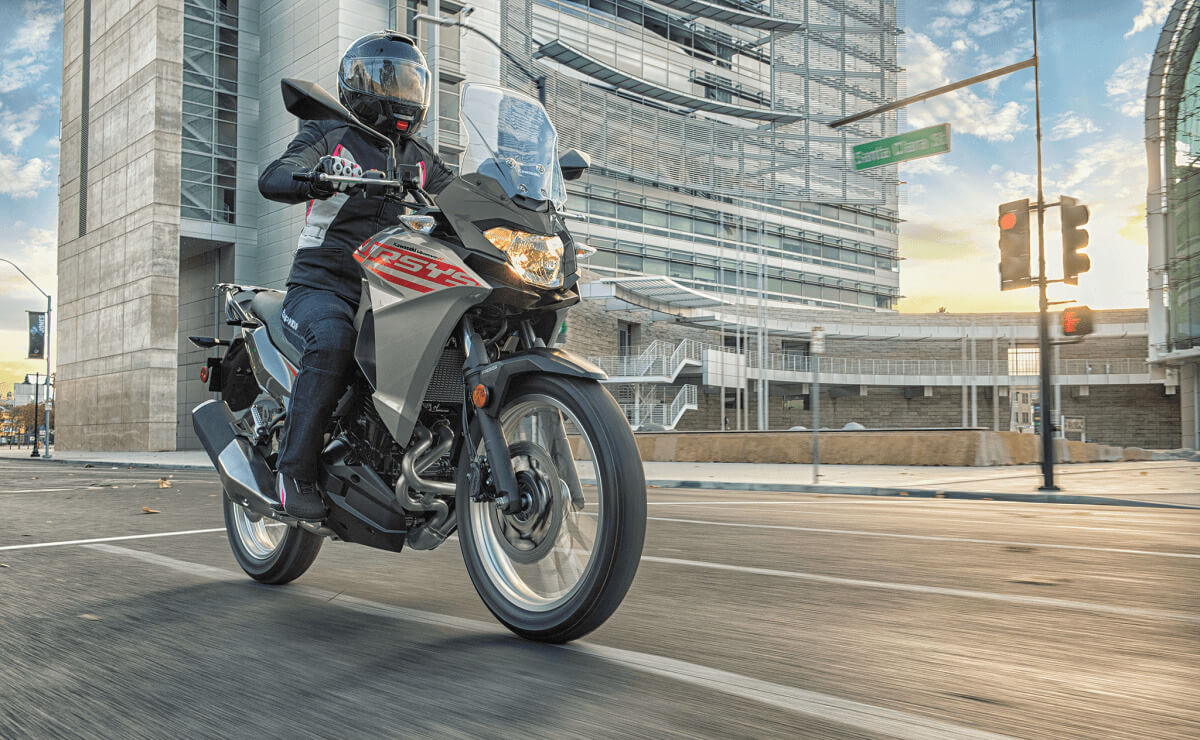 Kawasaki Versys X 300 ABS accion