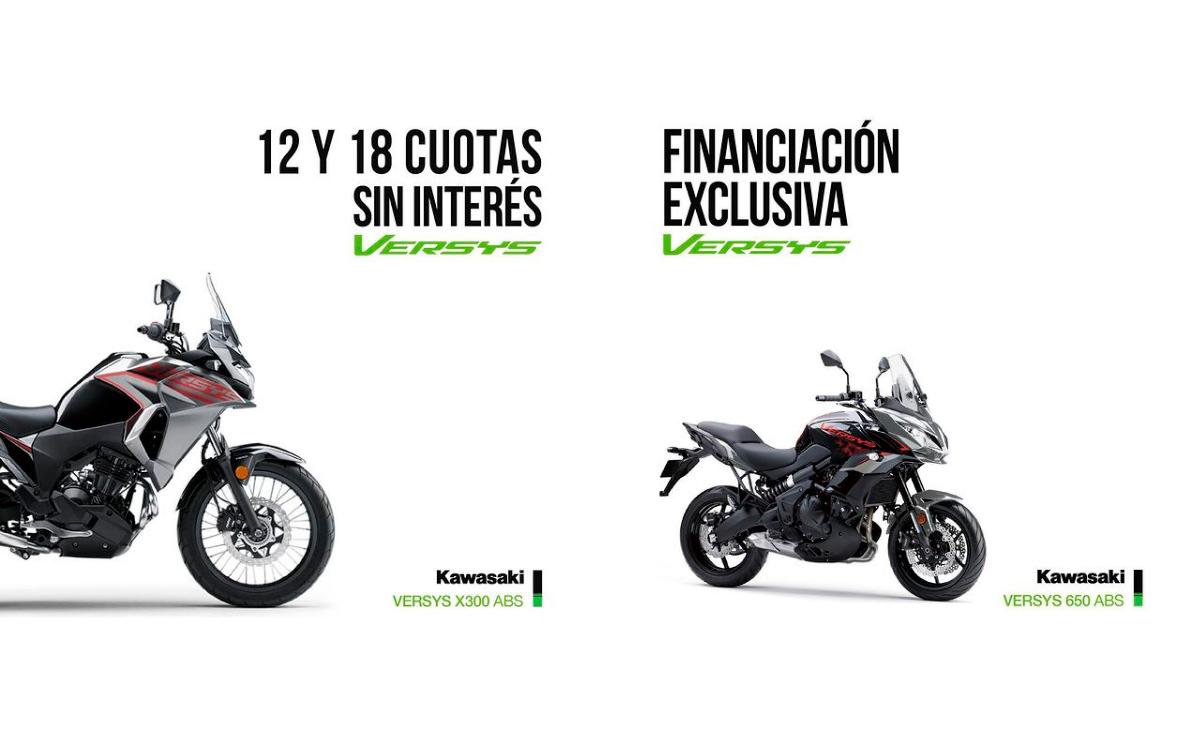 Kawasaki Versys X 300 ABS financiación